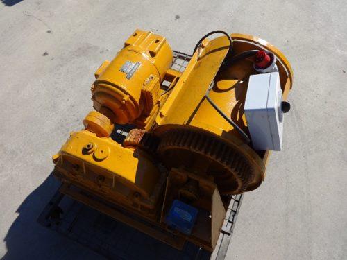 Argano elettrico potenza 5cv/1400rpm