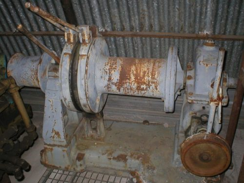 Winch for ships and various