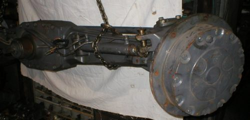 Axle New Holland for tractor