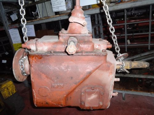 American gearbox for crane