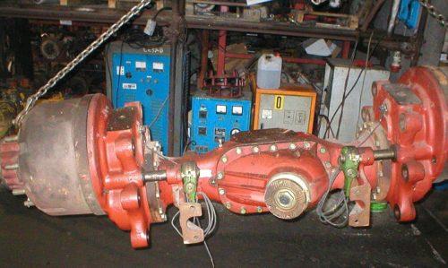 Graziano BRA-130-DCR axle