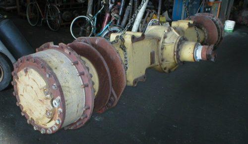 Caterpillar 8X-7581 fixed axle