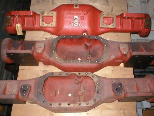 MPM axle for pullman