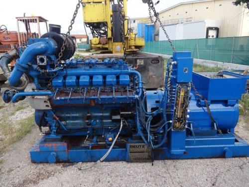 Generatore a benzina con motore Deutz