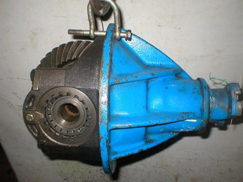 Man Meccanica 15x39 axle group