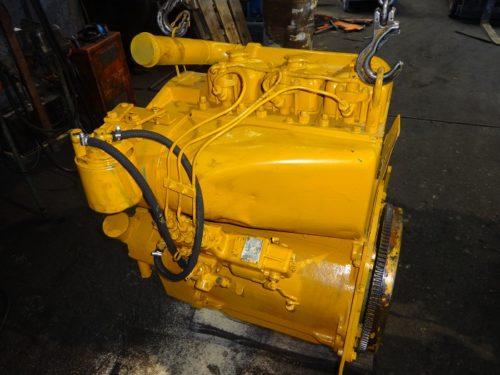 Alsthom 3 cylinders engine