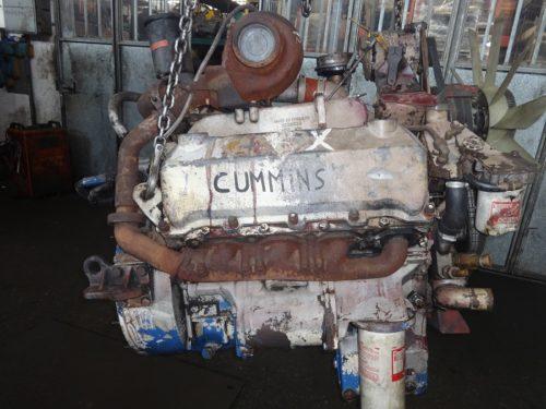 Motore Cummins V8 turbo