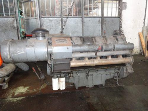Deutz F10L413 engine