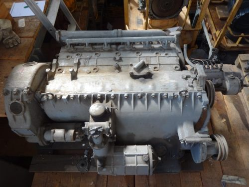 Fiat 642R65 engine for bus