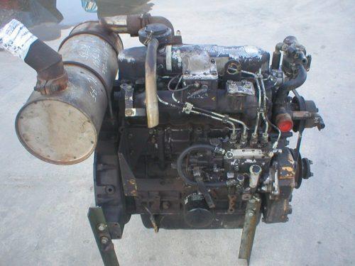Mitsubishi engine for Komatsu PC75