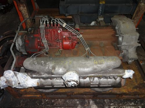 Unic MT-80 engine for pullman