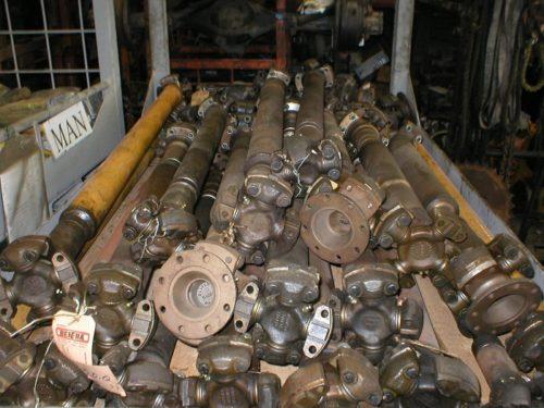Benfra propeller shafts