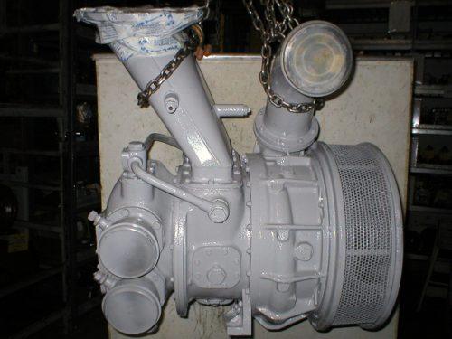 Napier turbocharger for ship