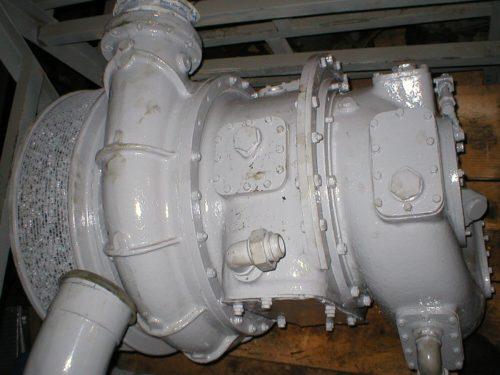 Napier 200/1 turbocharger
