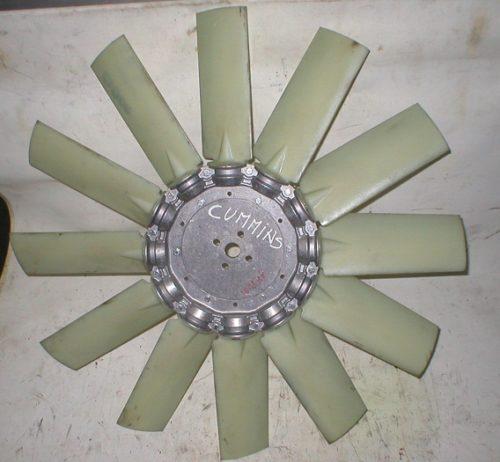Ventola radiatore motore Cummins C8.3-C