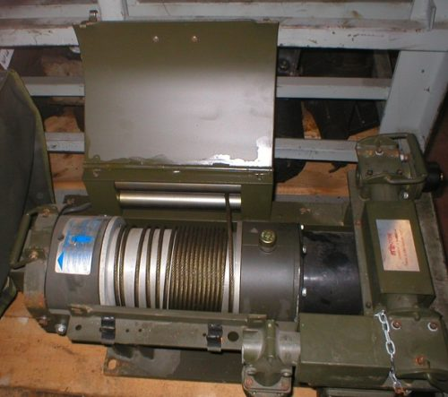 Verricello militare elettrico 24V