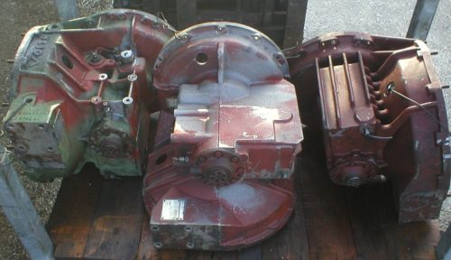 Voith 850 transmission