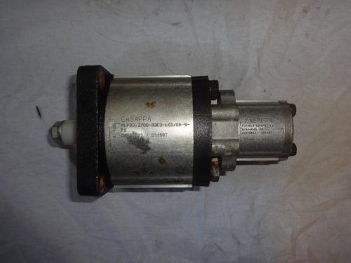 Casappa double hydraulic gear pump