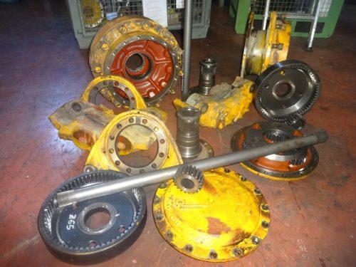 Axle spare parts Hanomag 55D wheel loader