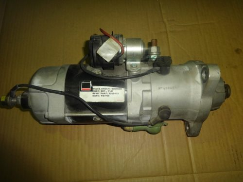 Caterpillar 3377187 starter motor