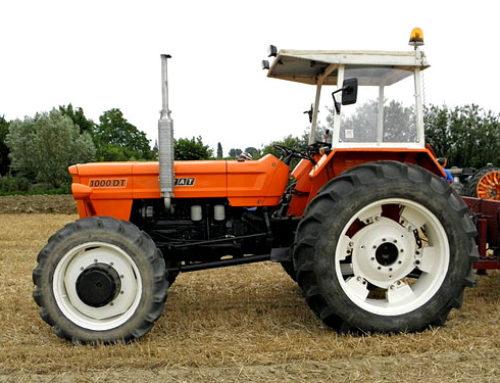 Trattore Fiat 1000; quale agricoltore non l'ha avuto?