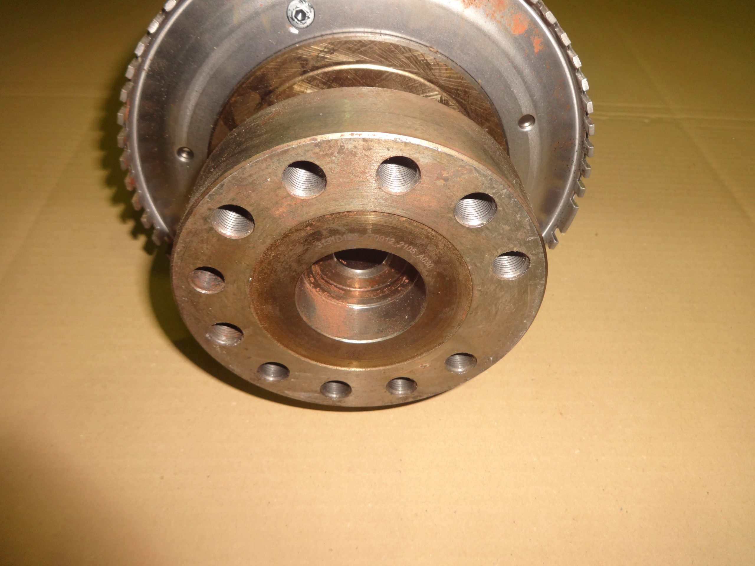 albero motore perkins 3da50914