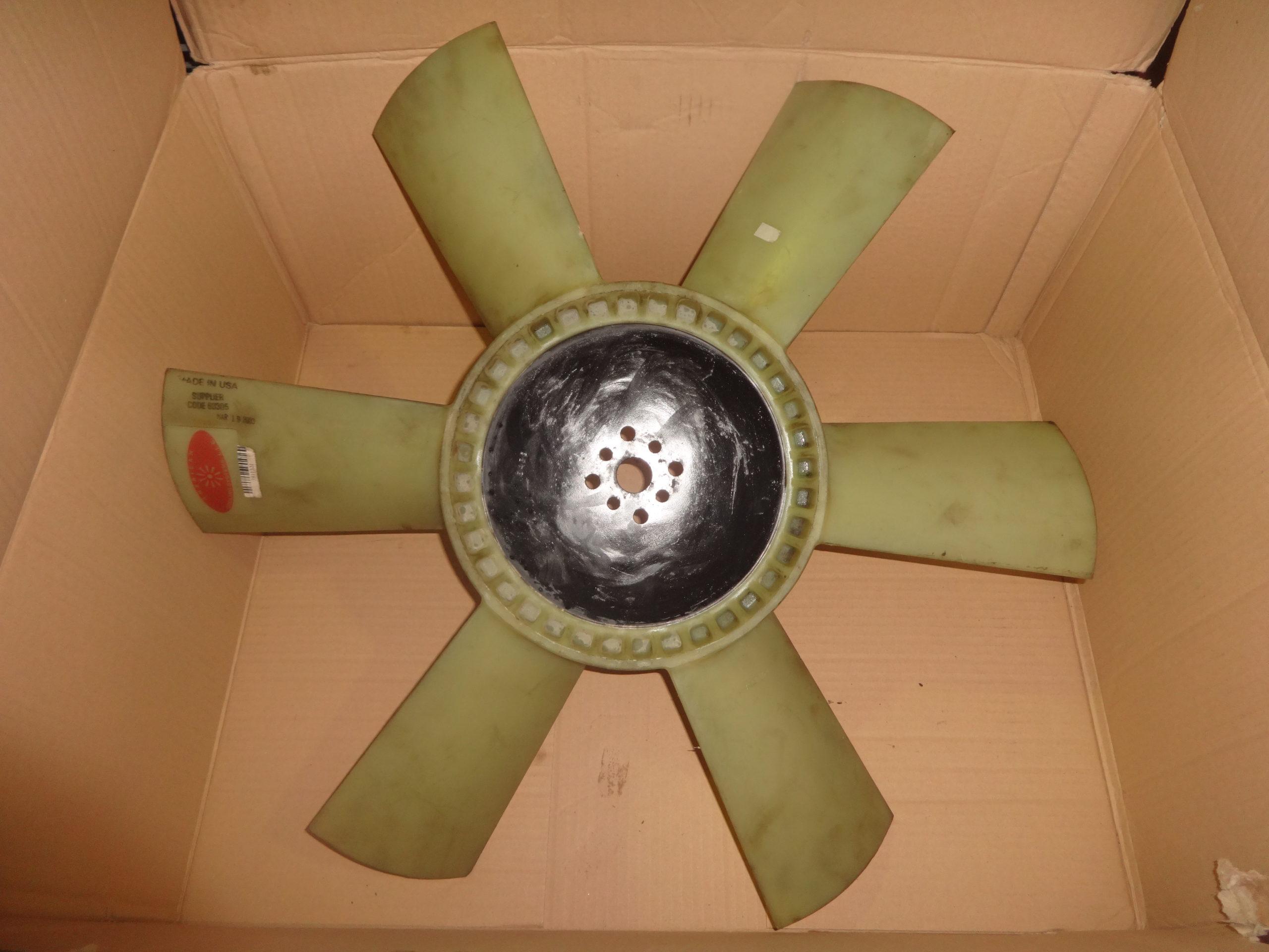 ventola radiatore cummins 3911321